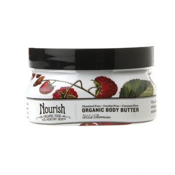 Nourish Organic Body Butter, Wild Berries, 3.6 oz