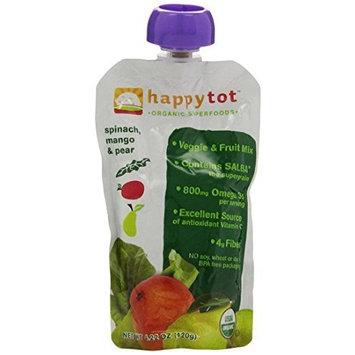 Happybaby Happy Family happy tot Purees - Spinach Mango & Pear - 4.22 oz - 8 pk