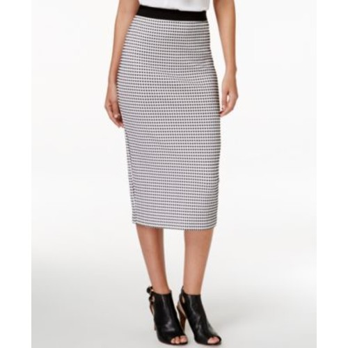 Alfani Gingham-Print Midi Skirt, Only at Macy's