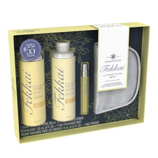 Fekkai Holiday Gift Set with Trial Size Fragrance and Bag Citron et Menthe