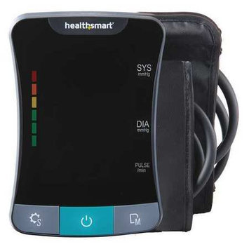 HealthSmart Premium Talking Digital Arm Blood Pressure Monitor with Standard and Large Cuffs