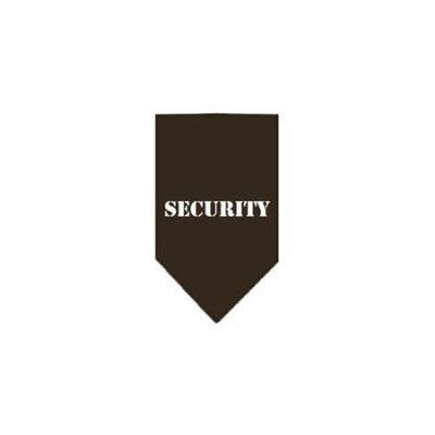 Ahi Security Screen Print Bandana Cocoa Small