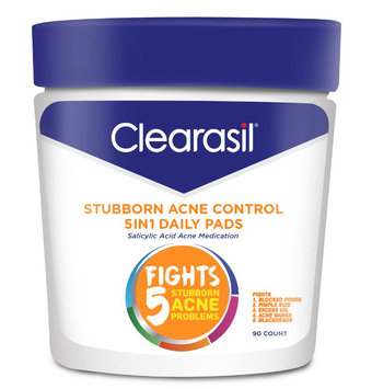 CLEARASIL® Stubborn Acne Control 5in1 Daily Pads