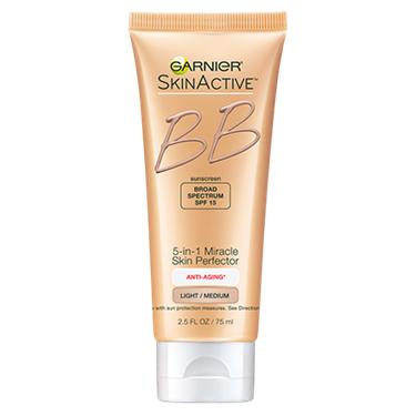 Garnier SkinActive 5-in-1 Miracle Skin Perfector Anti Aging BB Cream