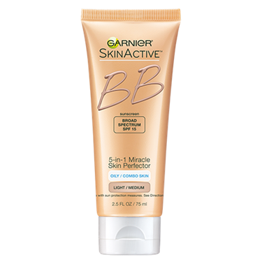 Garnier SkinActive 5-in-1 Miracle Skin Perfector Oil-Free BB Cream