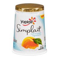 Yoplait® Simplait Peach Yogurt