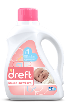 Dreft Stage 1: Newborn Liquid Detergent