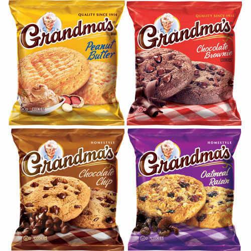 Grandma's Cookies Variety Snack Packs