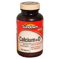 Sundown Naturals Calcium with Vitamin D3, 250 tablets