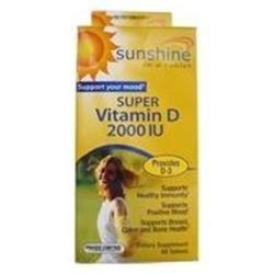 Windmill Health Products Sunshine Super Vitamin D - 2000 IU - 60 Tablets