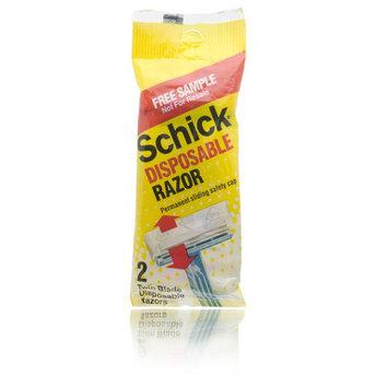 Schick Disposable Razor Permanent Sliding Safe Cap