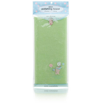 Spa Sister Skin Polishing Towel Cleanse & Renew