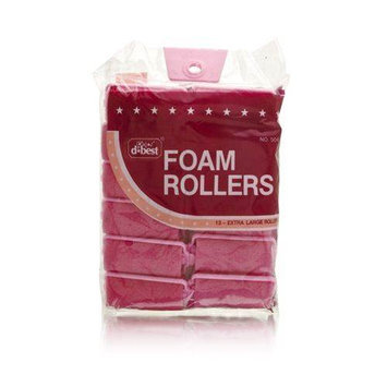 DBest Foam Rollers Model No. 504 (12 Rollers)