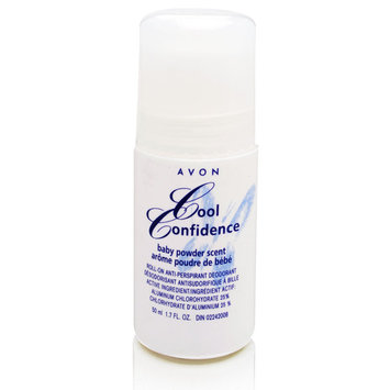 Avon Cool Confidence Baby Powder Scent