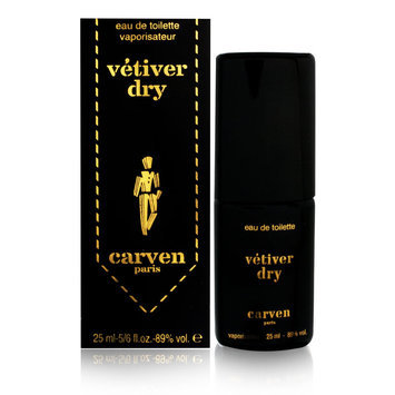 Vetiver Dry by Carven for Men EDT Spray