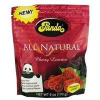 Panda All Natural Licorice Cherry - 6 oz - Vegan
