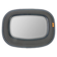 Brica BRICA Baby In-Sight Soft-Touch Auto Mirror for in Car Safety - Gray