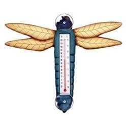 Bobbo Inc BOBBO2172508 Dragonfly Thermometer Small