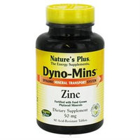 Dyno-Mins Zinc 50mg by Nature's Plus 90 Tabs