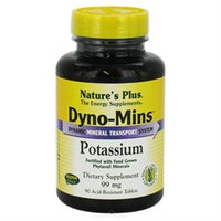 Dyno-Mins Potassium 99mg by Nature's Plus 90 Tabs