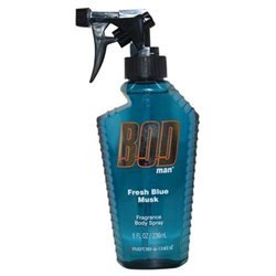 BOD Man Fresh Blue Musk Deodorant Body Spray, 8 oz