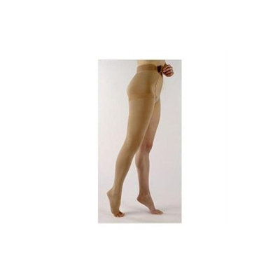 Sigvaris 500 Natural Rubber 30-40 mmHg Open Toe Unisex Thigh High Sock with Waist Attachment Size: M2, Leg: Left
