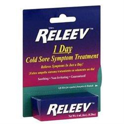 Releev 1-Day Cold Sore Symptom Treatment, .2 oz
