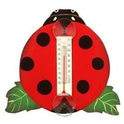 Bobbo Inc BOBBO2172511 Lady Bug Thermometer Small