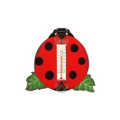 Bobbo Inc BOBBO2172511 Lady Bug Thermometer Small