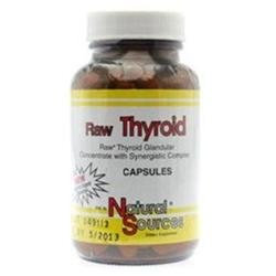 Raw Thyroid by Natural Sources - 180 Capsules