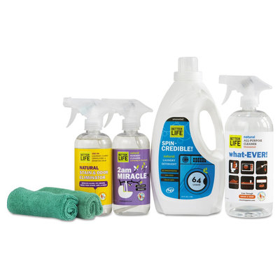 Better Life Natural 6 Piece Cleaning Set, Clear