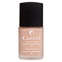 Gabriel Cosmetics Inc. - Moisturizing Liquid Foundation Natural Beige 18 SPF - 1 oz.