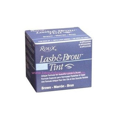 ROUX Lash & Brow Tint Brown 40 application