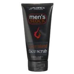 Aubrey Organics Men's Stock Spice Island Face Scrub