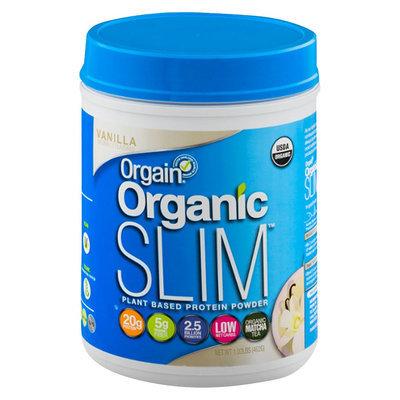Orgain Organic Slim Vanilla Plant Based Protein Powder - 16.32 oz