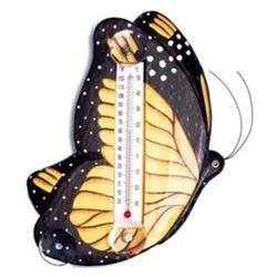 Bobbo Inc BOBBO2172501 Butterfly Monarch Thermometer Small