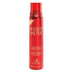 Prince Matchabelli Sexiest Musk Fragrance Deodorant Body Spray, 2.5 oz