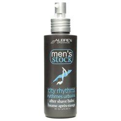 Aubrey Organics - Men's Stock City Rhythms After Shave Balm - 4 oz.