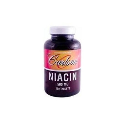 Carlson Laboratories Niacin 500 MG - 250 Tablets - Niacin