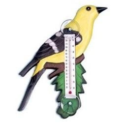 Bobbo Inc BOBBO2170714 Goldfinch - Branch Thermometer Small