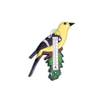 Bobbo Inc BOBBO2170714 Goldfinch - Branch Thermometer Small
