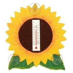 Bobbo Inc BOBBO2170623 Sunflower Thermometer Small