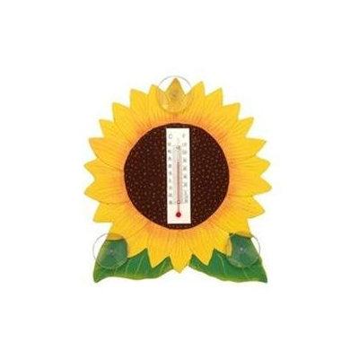 Bobbo Inc BOBBO2170623 Sunflower Thermometer Small