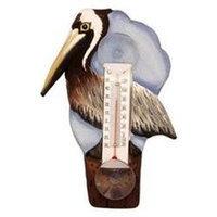 Bobbo Inc BOBBO2170740 Brown Pelican Thermometer Small