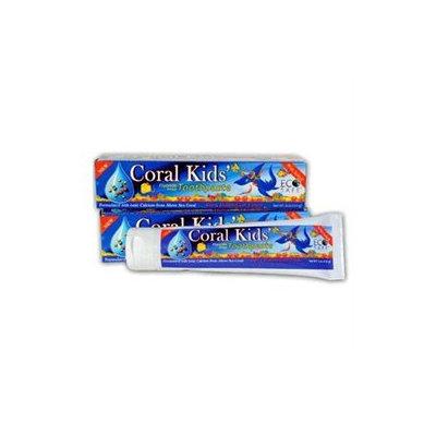 Coral LLC - Coral Kids Toothpaste Berry Bubblegum Flavor - 6 oz.