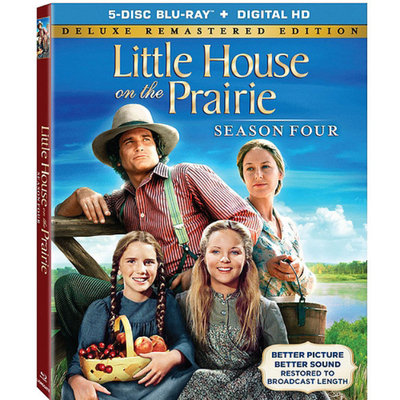 Little House On The Prairie: Season 4 (Blu-ray + Digital HD) (Widescreen)