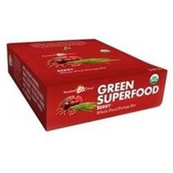 Amazing Grass Green SuperFood Energy Bars, Berry