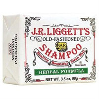 J.R. Liggetts 0221366 Old-Fashioned Bar Shampoo Herbal Formula - 3. 5 oz