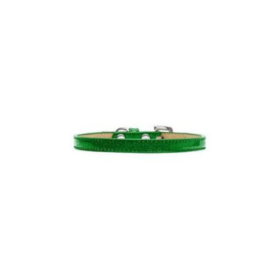 Mirage Pet Products 10-30 8EG Plain Ice Cream Collars Emerald Green 8