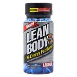 Labrada - Lean Body Hi Energy Fat Burner - 60 Capsules